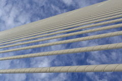 Clouds in lines Stock Photography