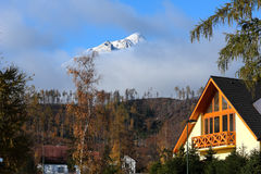 clouds lomnica Fotografering för Bildbyråer