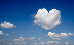 Clouds of Love Royalty Free Stock Photos