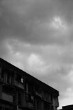 clouds lynnigt Royaltyfria Foton
