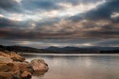 clouds lynnigt Royaltyfri Foto