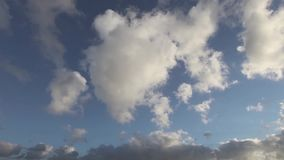 Clouds motion timelapse.  stock video footage