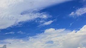 Clouds movement stock footage