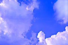 Clouds Moving with a Front Royalty Free Stock Photo