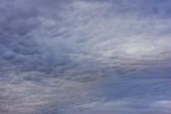 clouds mystiskt Fotografering för Bildbyråer