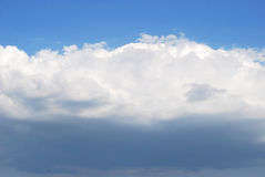 Clouds. Na cloud is in blue sky Stock Images