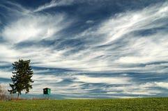 clouds ojämnt Arkivbild