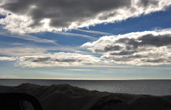 clouds olikt Arkivfoton
