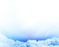 Clouds with open space Royalty Free Stock Photography