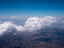 Clouds over Andes Mountains in Cusco, Peru Royalty Free Stock Photos