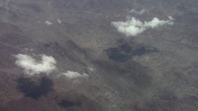 Clouds over the Arabian Peninsula stock video footage