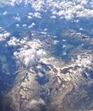 Clouds over Austrian Alps Stock Photography