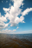 Clouds over Baltic sea. Royalty Free Stock Photography