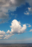 Clouds over Baltic sea. Royalty Free Stock Images