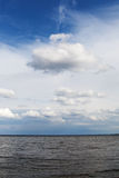 Clouds over Baltic sea. Royalty Free Stock Image