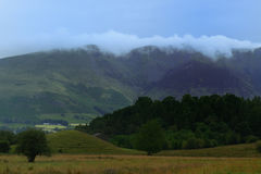 Clouds over Blencathra Stock Images