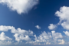 Clouds over Blue Skies Royalty Free Stock Photos