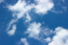 Clouds over blue sky Royalty Free Stock Photography