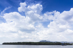 Clouds over blue sky Royalty Free Stock Images