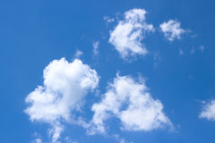 Clouds over blue sky Stock Image
