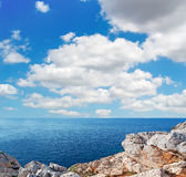 Clouds over Capo Caccia Royalty Free Stock Photography