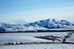 Clouds over Denali Royalty Free Stock Image