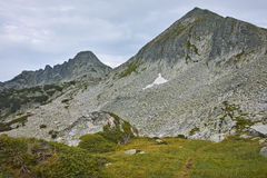 Clouds over Dzhangal and Momin Dvor peaks, Pirin mountain Stock Image
