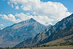 Clouds over Eastern Sierras Royalty Free Stock Image