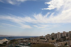 Clouds over Eilat Stock Image