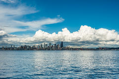Clouds Over Emerald City Royalty Free Stock Photography