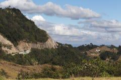 Clouds Over Guatemalan Countryside Stock Photos