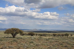 Clouds over Hart Mountain National Antelope Refuge Stock Photography