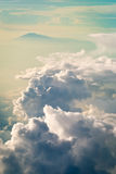 Clouds over Java, Indonesia Royalty Free Stock Photo
