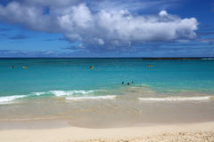 Clouds over Kailua Beach Royalty Free Stock Images
