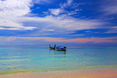 Clouds over Koh Lipe Royalty Free Stock Images
