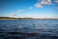 Clouds over Lake Royalty Free Stock Images