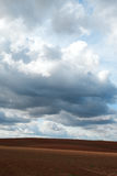 Clouds over land. Royalty Free Stock Photos