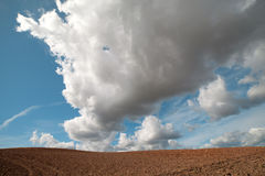 Clouds over land. Stock Images