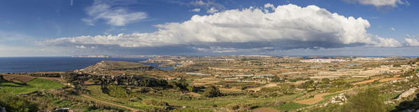 Clouds over Malta Royalty Free Stock Photography