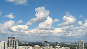 Clouds Over Mississauga and Toronto Timelapse stock video footage