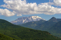 Clouds over Mount Saint Helens Royalty Free Stock Image