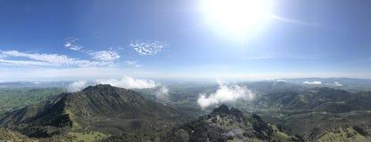 Mt Diablo east basin california Sierras royalty free stock photos