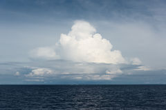 Clouds over ocean Royalty Free Stock Photography