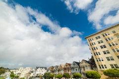 Clouds over Painted Ladies Stock Photos