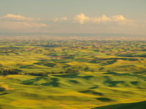 Clouds over the Palouse Royalty Free Stock Photo