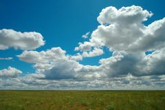 Clouds over the Palouse Stock Photography