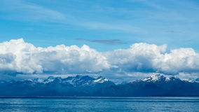 Clouds over Prince William Sound Royalty Free Stock Photos