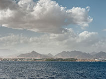 Clouds over the Red Sea. Stock Images