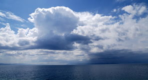 Free Clouds Over The Sea Stock Photography - 13490862