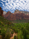 Clouds over Zion Stock Photos